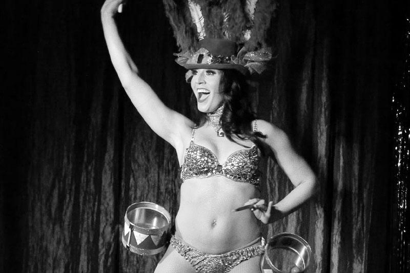 Juju Bea features in Las Vegas' BurlesQ
