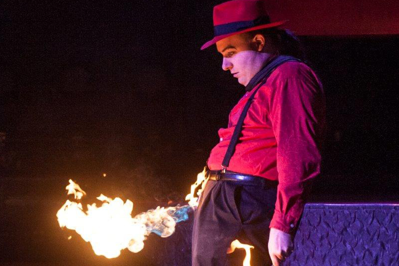 Bizzaro's Wild Fire Act