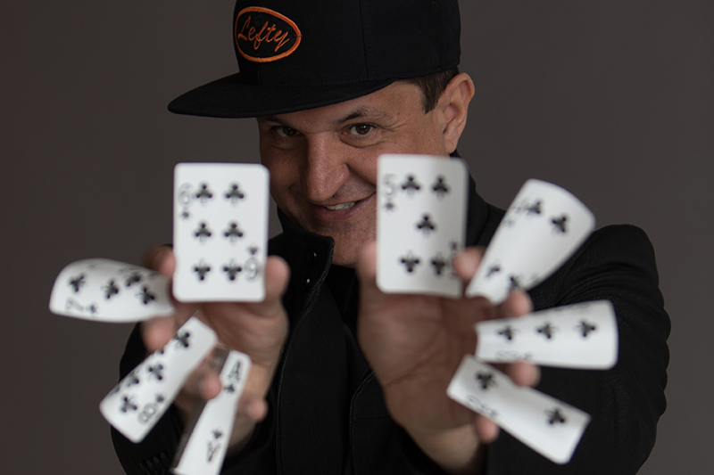 LEFTY - Sleight of Hand Magician
